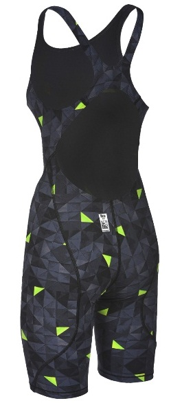 ARENA Women's Powerskin ST 2.0 Full Body Limited Edition - Open Back (Black/Yellow (506))