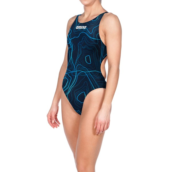 ARENA Women's Powerskin ST Classic Suit Short Leg Limited Edition (Sonic Navy (953))