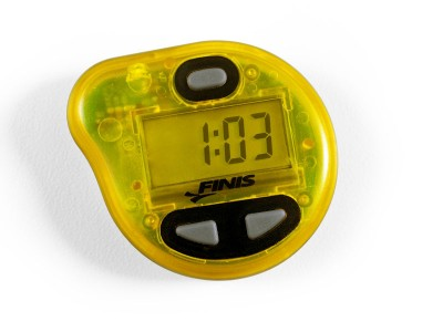 FINIS Tempo Trainer Pro Audible Metronome Pacing Device (Yellow)