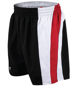 TYR shorts (Black/Red)