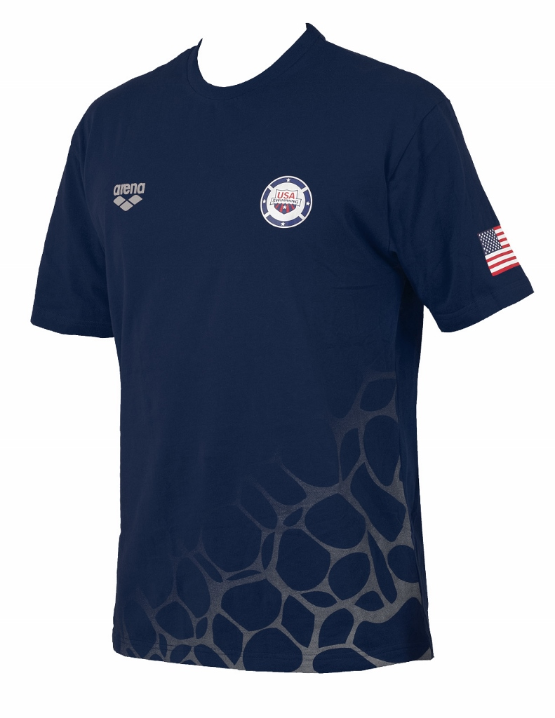 ARENA USA Swimming T-Shirt 1D070