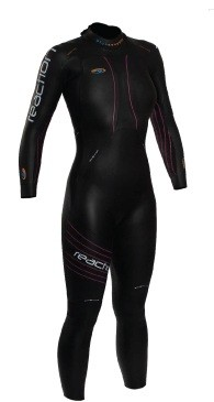 BLUESEVENTY Women's Reaction Full Wetsuit  (Black)