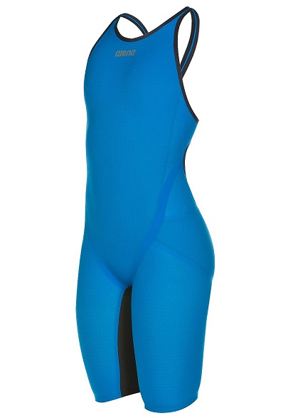 Arena Women's Powerskin Carbon Flex VX - Open Back Kneeskin (Imperial Blue/Dark Grey (85))