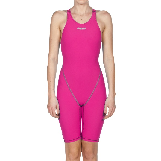 ARENA Women's Powerskin ST 2.0 Full Body Short Leg Open Back (Fuchsia (980))