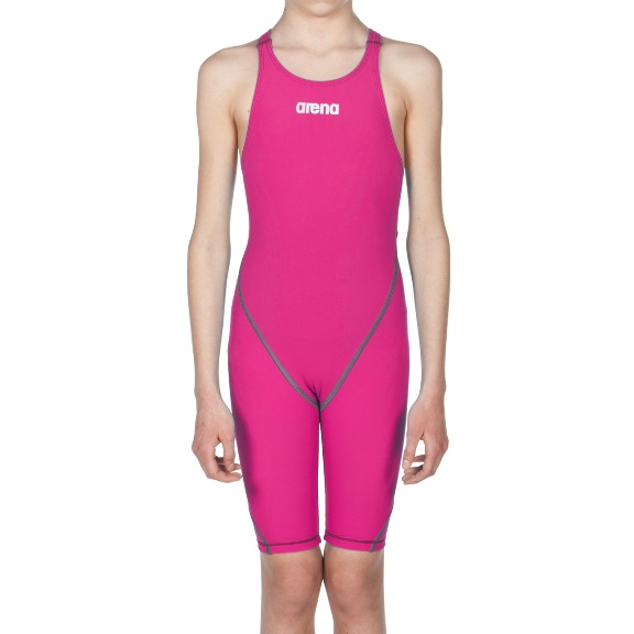 ARENA Girls' Powerskin ST 2.0 Youth - Open Back (Fuchsia (980))