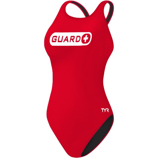 TYR Guard Women's Maxfit Swimsuit (Red (610))