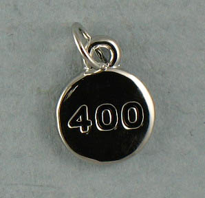 TOTALLY STROKED 400 Charm (Silver)
