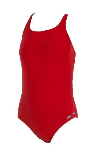 ARENA Waternity Madison Swim Pro Back - Youth (Red/Metallic Grey (45))