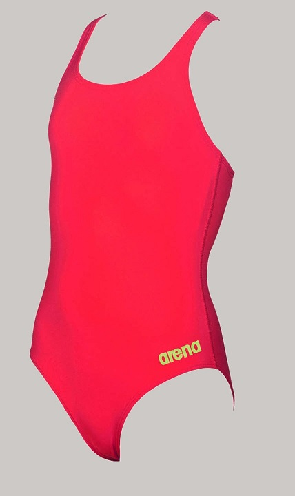 ARENA Waternity Madison Swim Pro Back - Youth (Flou Red/Soft Green (476))