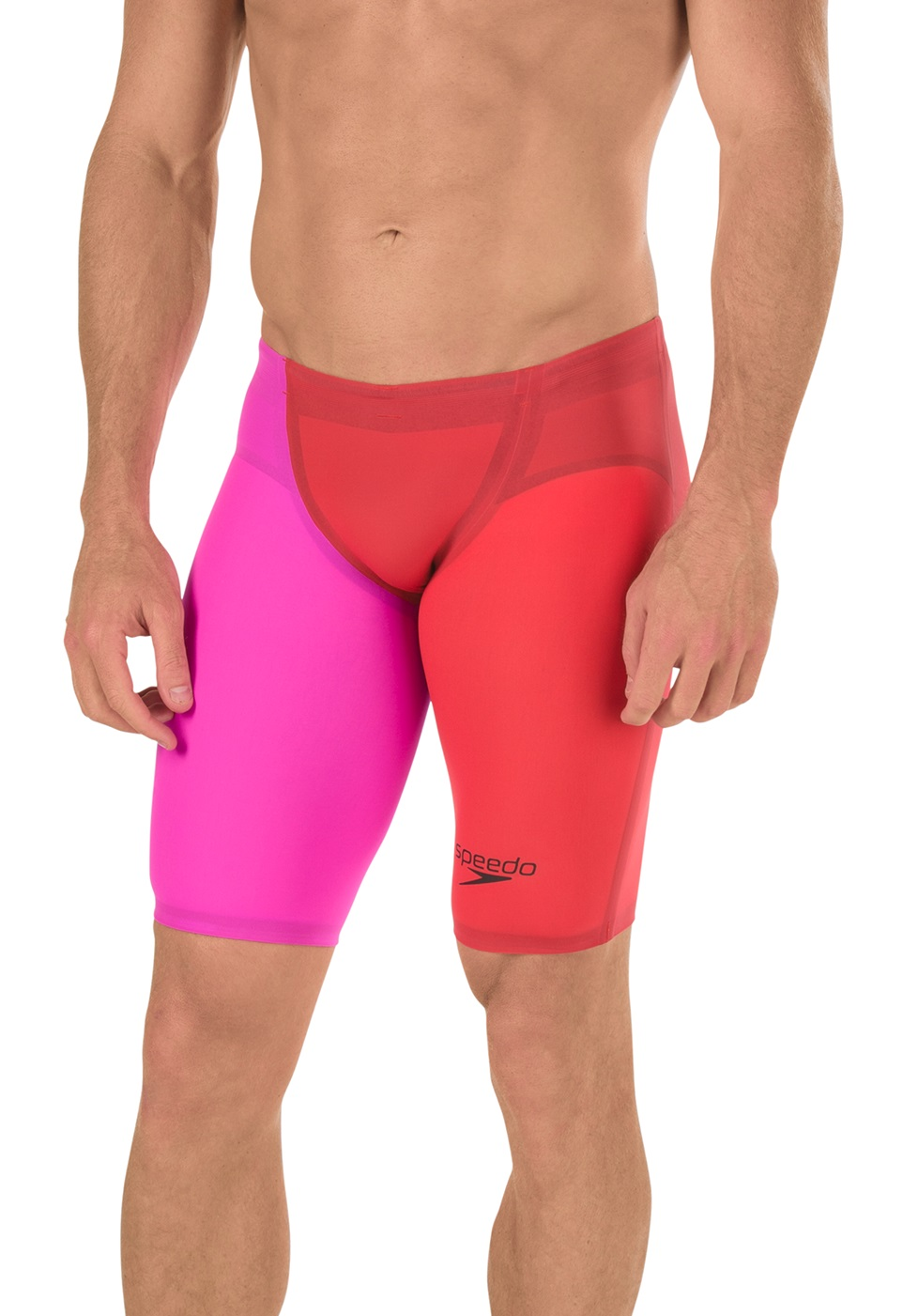 SPEEDO LZR Racer Elite 2 Jammer (Lava Red (625))