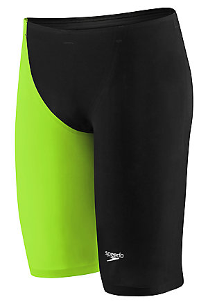 SPEEDO LZR Racer Elite 2 Jammer (Black/Lime (962))