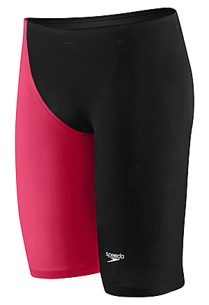 SPEEDO LZR Racer Elite 2 Jammer (Black/Hot Coral (806))