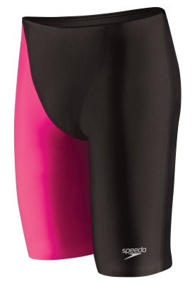 SPEEDO Fastskin LZR Racer� Elite 2 Jammer (22, 26-32 Only) (Black/Hot Pink (152))