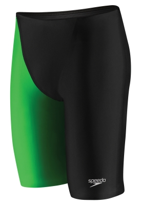 SPEEDO Fastskin LZR Racer� Elite 2 Jammer (22, 26-32 Only) (Black/Green (283))