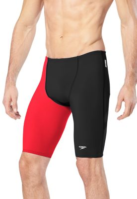 SPEEDO Men's LZR Racer Pro Jammer with Contrast Leg (Speedo Red (601))