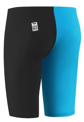 SPEEDO Men's LZR Racer Pro Jammer with Contrast Leg (Black/Blue (976))