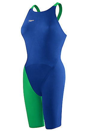 SPEEDO LZR Racer Elite 2 Comfort Strap Kneeskin (Blue/Red (992))
