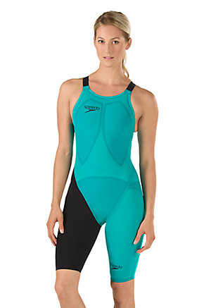 SPEEDO LZR Racer Elite 2 Comfort Strap Kneeskin (Jewel Green (357))