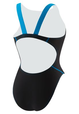 SPEEDO Women's LZR Racer Pro Recordbreaker with Comfort Strap (Black/Blue (976))