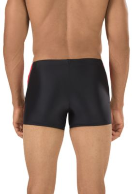 SPEEDO Fitness Splice Square Leg (New Black (002))