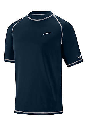 SPEEDO Easy Short Sleeve Swim Tee (New Navy (413))