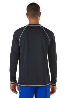 SPEEDO Easy Long Sleeve Swim Shirt (Speedo Black (001))