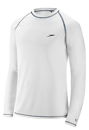 SPEEDO Easy Long Sleeve Swim Shirt (White (100))