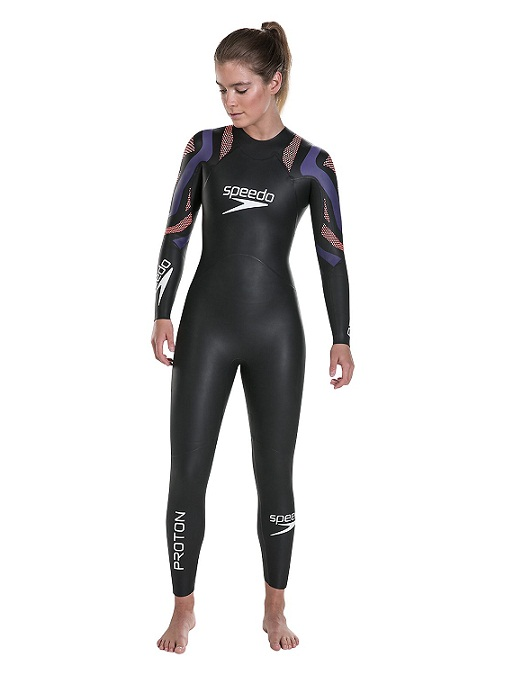 Speedo Female Proton Fullsuit (Black (001))