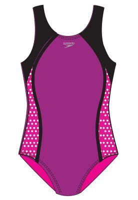 SPEEDO Girls Mesh Splice Thick Strap (7-16) 7714001