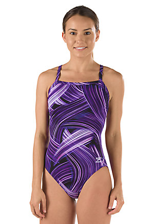 SPEEDO Endurance Turbo Stroke Flyback - Youth (Speedo Purple (502))