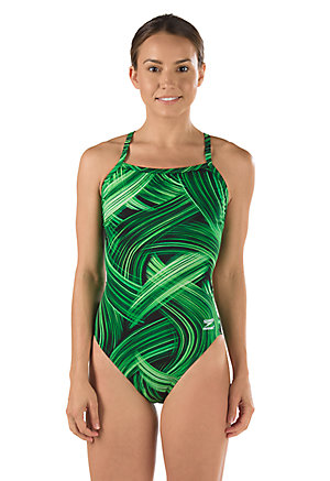 SPEEDO Endurance Turbo Stroke Flyback - Youth (Speedo Green (320))