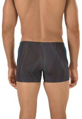 SPEEDO Laser Lines Square Leg (Speedo Black (001))