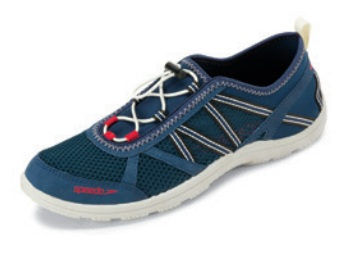 SPEEDO Men's Seaside Lace 5.0 Water Shoes (Insignia Blue/BoneWhite (410))