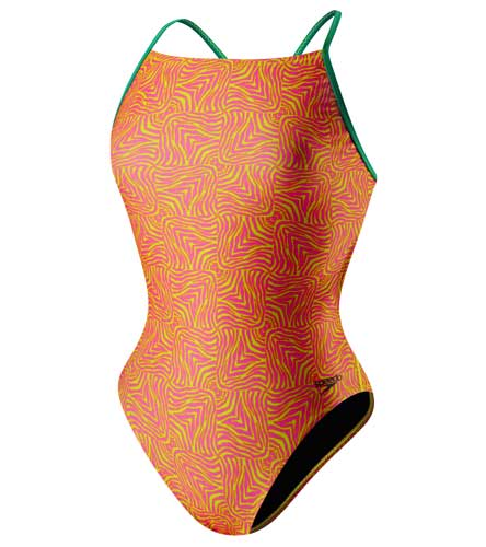 SPEEDO Flipturns Geo Zebra Mesh Back - Adult  (Multi (082))