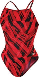 SPEEDO Endurance Zee Wave Flyback - Youth (Red (006))