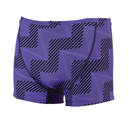 DOLFIN Reversible Square Leg - Flash Purple/Yellow 8937L-852