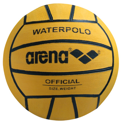 ARENA Women's Water Polo Ball (Yellow/Black)
