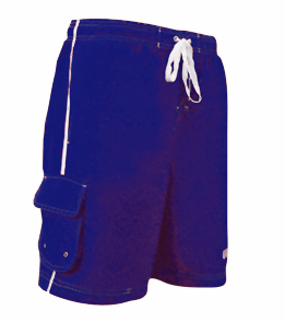 VLX Lifeguard Trunk 21 Inch Male Board Short  (Navy)