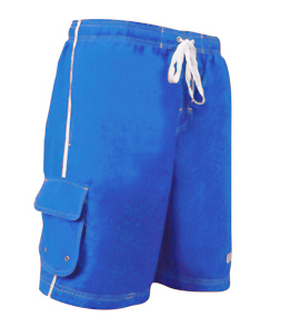 VLX Lifeguard Trunk 21 Inch Male Board Short  (Royal Blue (043))