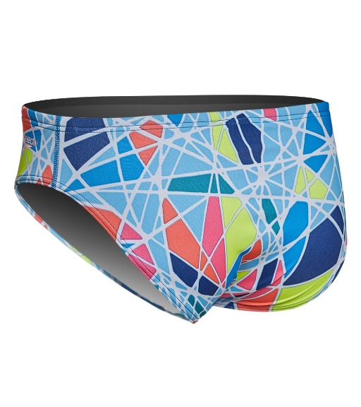 c34479f080 SPEEDO Turnz Printed Brief Swimsuit - Endurance Lite - Metro Swim Shop