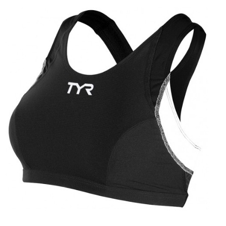 TYR Women's Competitor Support Bra (Black (001))
