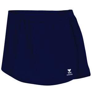 TYR Women's Solid Swim Skort (Navy)