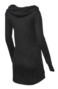 TYR Zoe Hooded Dress - Solid (black (001))