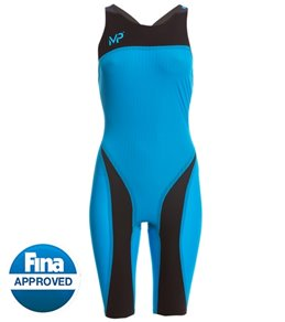 AQUA SPHERE Xpresso Kneeskin Tech Suit Swimsuit (Blue/Black)