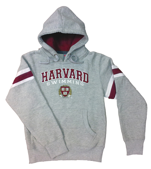 HARVARD Hooded Sweatshirt - 2012 (Grey)