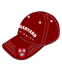 HARVARD Cap (Washed Maroon)