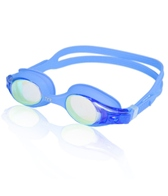TYR Kid's Swimple Mirrored Goggles (Met Blue(481))