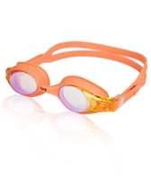 TYR Kid's Swimple Mirrored Goggles (Manic Mango(841))