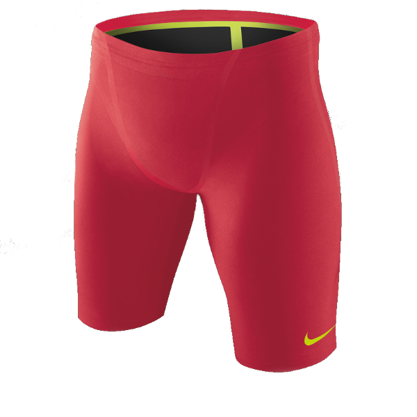 NIKE SWIM NG-1 Male Jammer (Action Red (617))