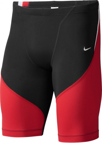 NIKE SWIM Poly Color Surge Jammer (University Red (614))